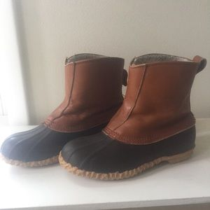 Vintage Duck Boot Slip On